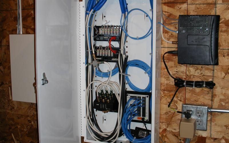 Wiring New Home For Security System