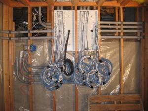 conduits into box