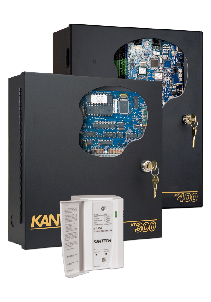 Kantech 2 and 4 Door Controllers